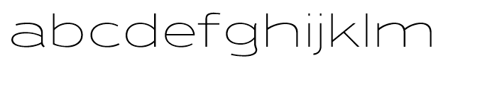Ronsard Crystal Light Font LOWERCASE