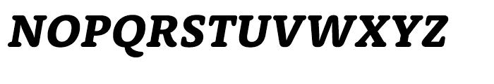 Rooney Pro Heavy Italic Font UPPERCASE
