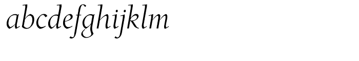Roos Display Italic Font LOWERCASE