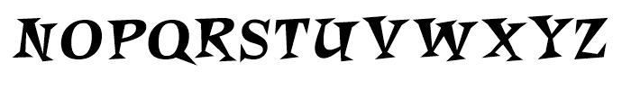 Roquette Font UPPERCASE