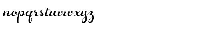 Rosarian Regular Font LOWERCASE