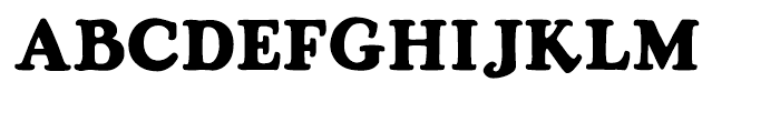 Rosemary Regular Font UPPERCASE