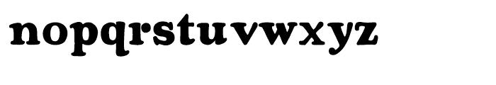 Rosemary Regular Font LOWERCASE