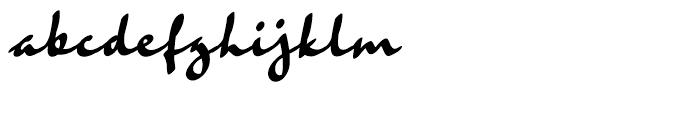 Rosie Regular Font LOWERCASE