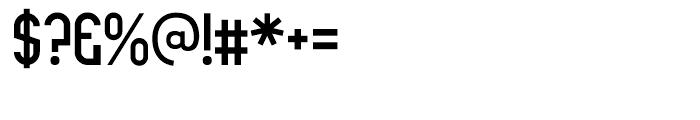 Rothwell Regular Font OTHER CHARS