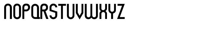 Rothwell Regular Font UPPERCASE