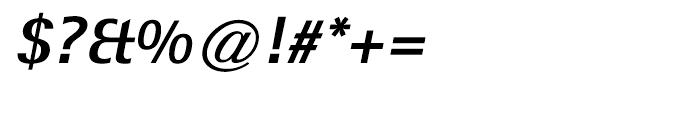 Rotis Sans Hellenic Extra Bold Italic Font OTHER CHARS