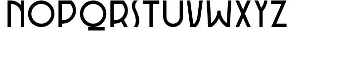 Rotorua Regular Font UPPERCASE