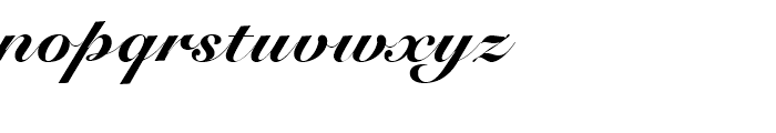 Roundhand BT Black Font LOWERCASE