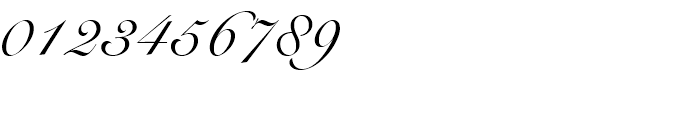 Roundhand BT Regular Font OTHER CHARS