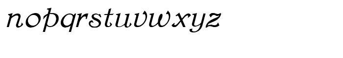 Rowan Oak NF Italic Font LOWERCASE