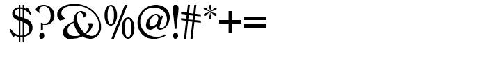 Rowan Oak NF Regular Font OTHER CHARS