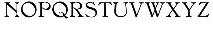Rowan Oak NF Regular Font UPPERCASE