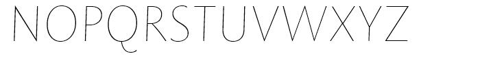 Rowton Sans FY Hair Italic Font UPPERCASE