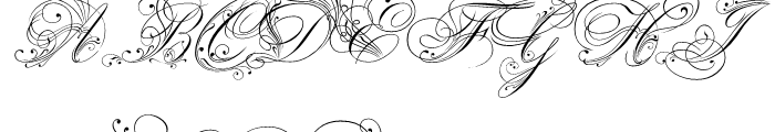 Royal Classic Regular Font UPPERCASE