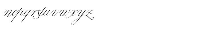 Royal Classic Regular Font LOWERCASE