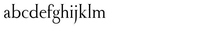 Royal Romain Regular Font LOWERCASE