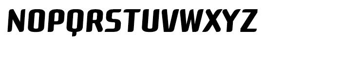 Roz Medium Italic Font UPPERCASE