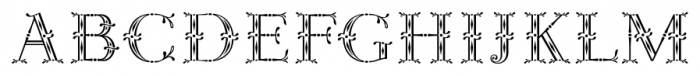 Rococo Titling Regular Font UPPERCASE