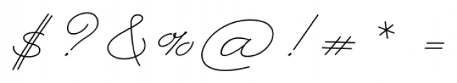 Rolling Pen Complete Font OTHER CHARS