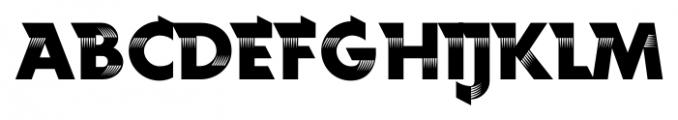 Rotor FastA Font UPPERCASE