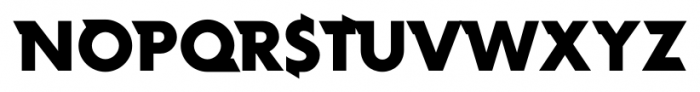 Rotor FastB Font UPPERCASE