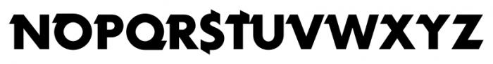 Rotor SlowB Font UPPERCASE