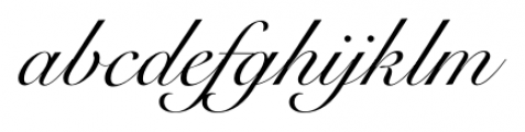 Roundhand BT Regular Font LOWERCASE