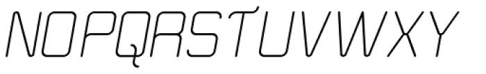 Road Trip Italic Font UPPERCASE