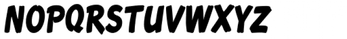 Roadbrush Condensed Italic Font UPPERCASE