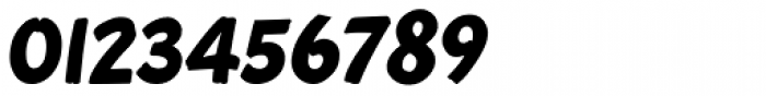 Roadbrush Italic Font OTHER CHARS