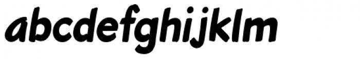 Roadbrush Italic Font LOWERCASE