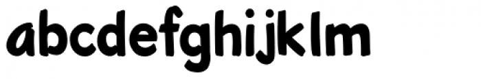 Roadbrush Font LOWERCASE