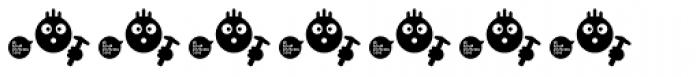 Roadkill Symbols Font OTHER CHARS