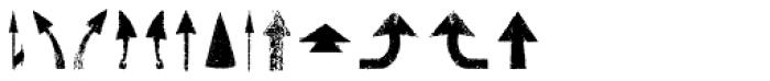 Roadkill Symbols Font UPPERCASE