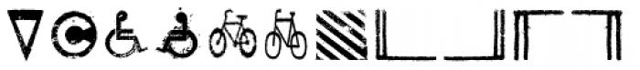 Roadkill Symbols Font LOWERCASE