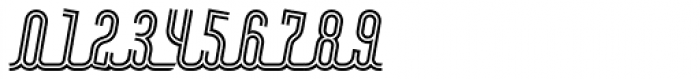 Roadline Neon OT Italic Font OTHER CHARS