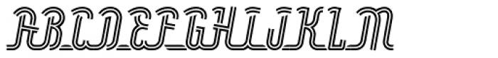 Roadline Neon OT Italic Font UPPERCASE