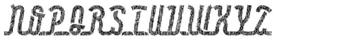 Roadline Paper OT Italic Font UPPERCASE