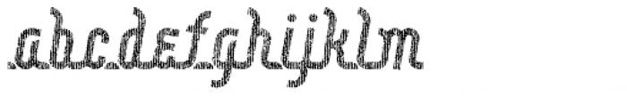 Roadline Paper OT Italic Font LOWERCASE