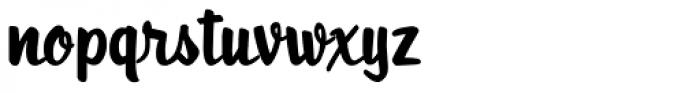 Roadstar Font LOWERCASE