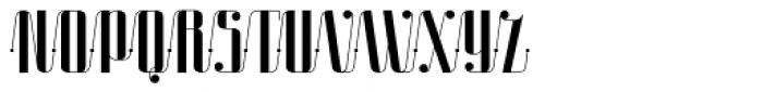 Roadster Script Solid Dot Font UPPERCASE