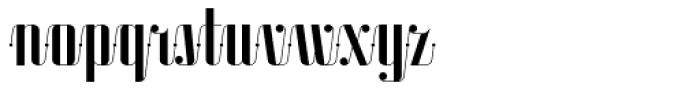 Roadster Script Solid Dot Font LOWERCASE