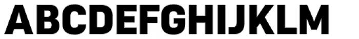 Roag Extra Bold Font UPPERCASE