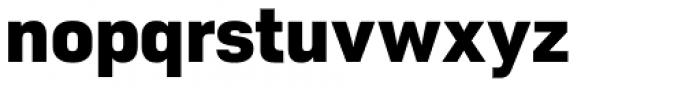 Roag Extra Bold Font LOWERCASE