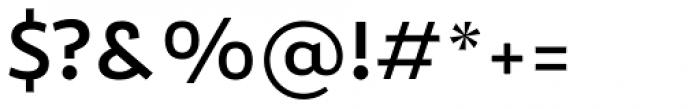 Roanne Medium Font OTHER CHARS