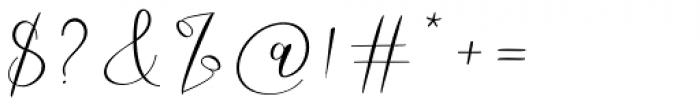 Robert Hunster Regular Font OTHER CHARS