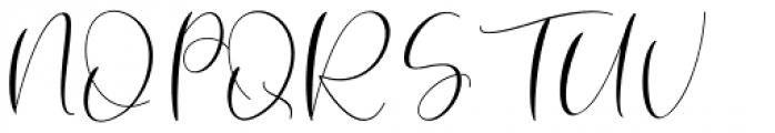 Robert Hunster Regular Font UPPERCASE