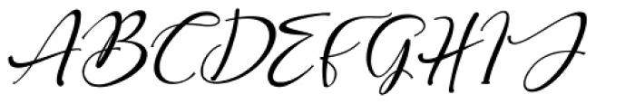 Roberto Italic Font UPPERCASE