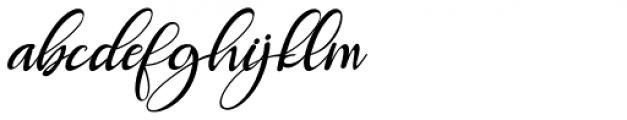 Roberto Italic Font LOWERCASE